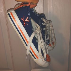 custom uva sneakers